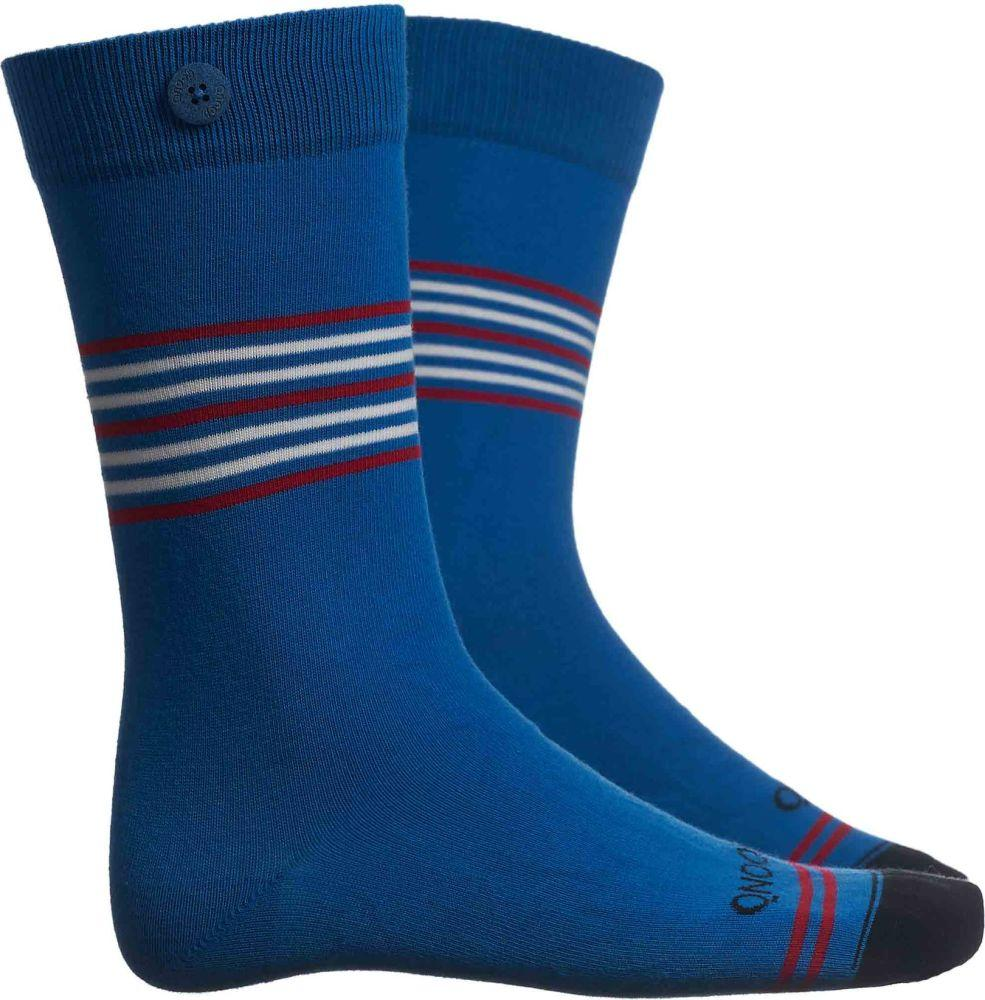 Tubular Blue Socks-Qnoop-MAMOQ