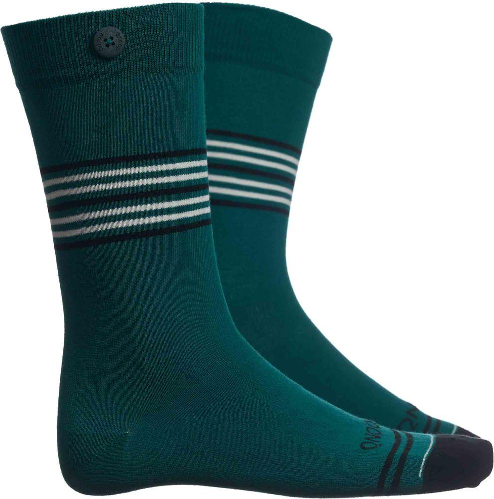 Tubular Green Socks-Qnoop-MAMOQ