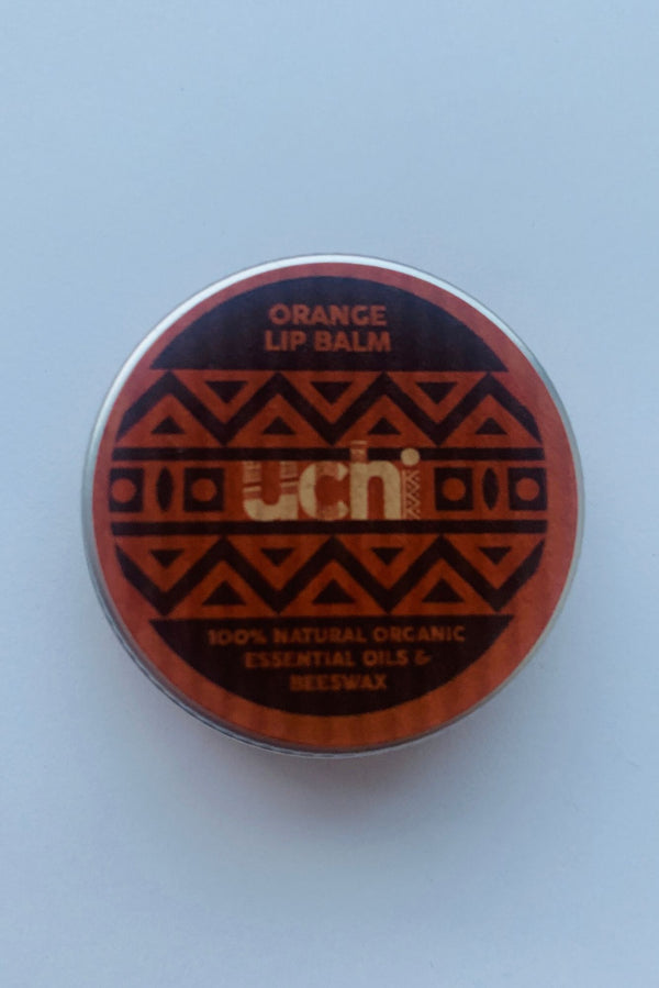 Uchi Natural Orange Lip Balm-Mayamiko-MAMOQ