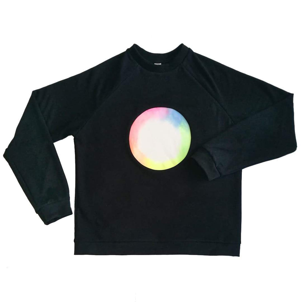Unisex Rainbow Moon Sweater-KIKS-MAMOQ