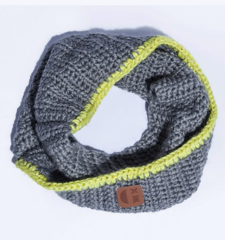 Unisex Twist Snood-GLOW-MAMOQ