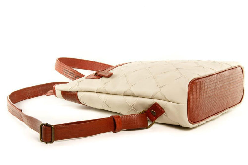 Up-cycled Leather Lite Backpack-Elvis & Kresse-MAMOQ