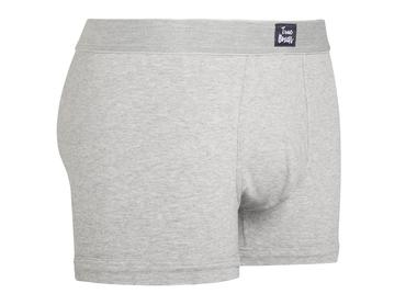 Urban Grey Cotton Briefs-True Boxers-MAMOQ