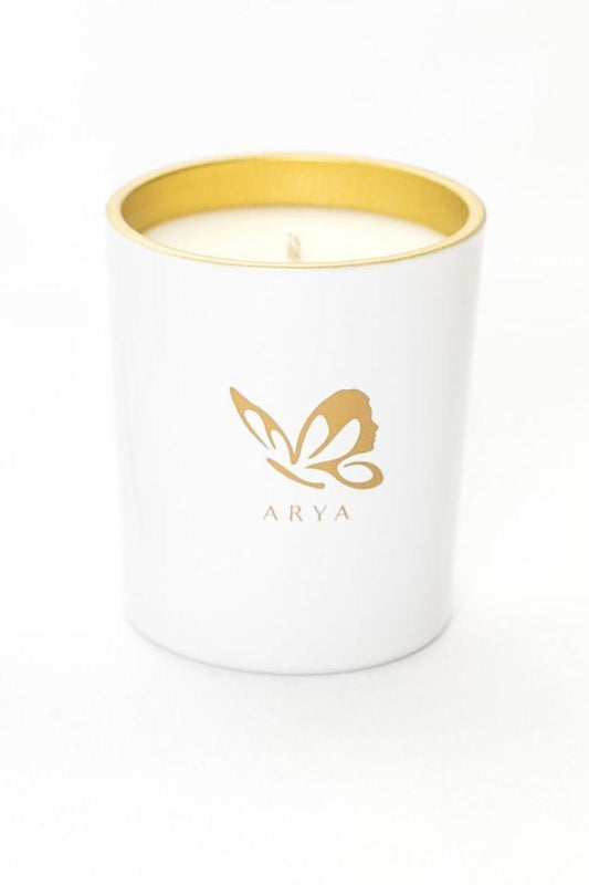 Vetivert, Rosewood, & Pine Candle-Arya Candles-MAMOQ