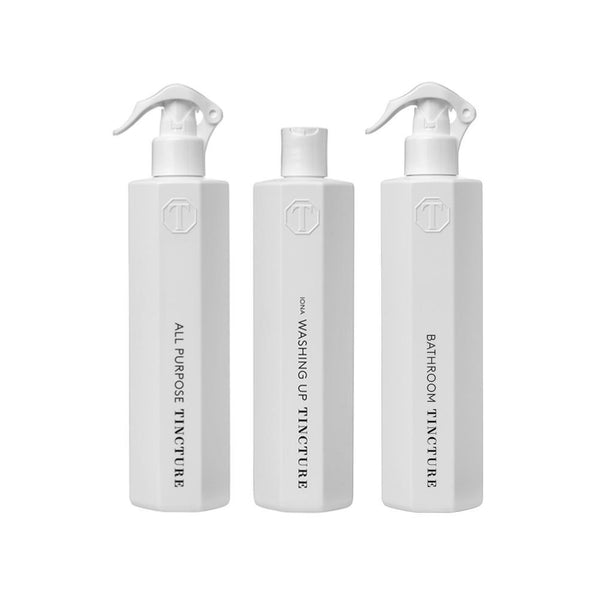 White Eco Cleaner Gift Set with Bag-TINCTURE-MAMOQ