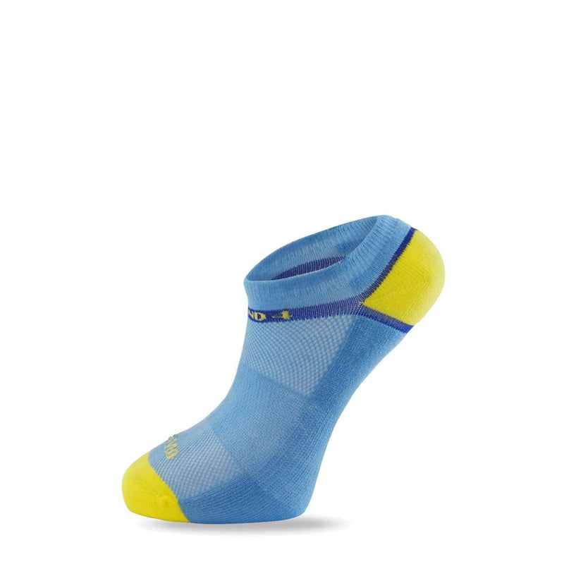 Women's Baby Blue Solar Energy Sock-Stand4 Socks-MAMOQ