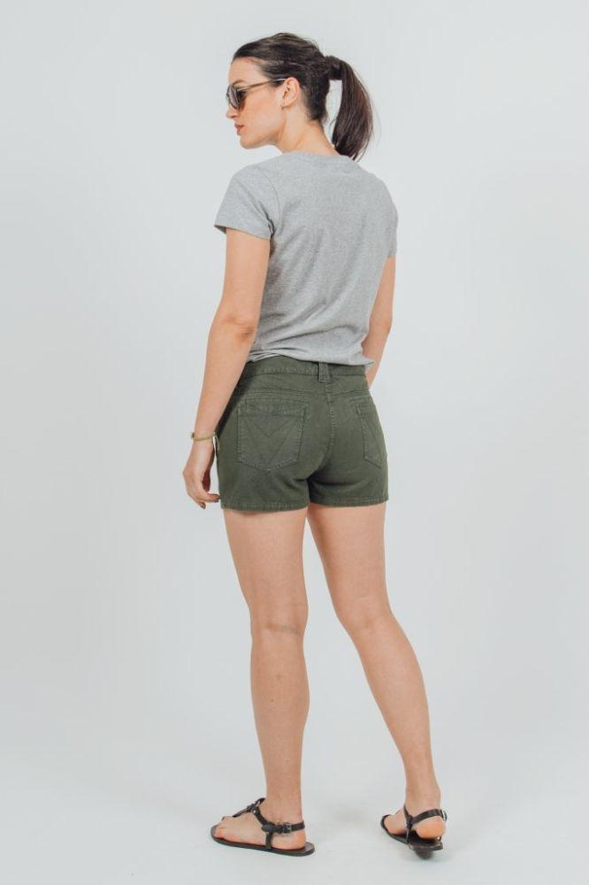 Yucatan Green Organic Cotton Shorts-VILDNIS-MAMOQ