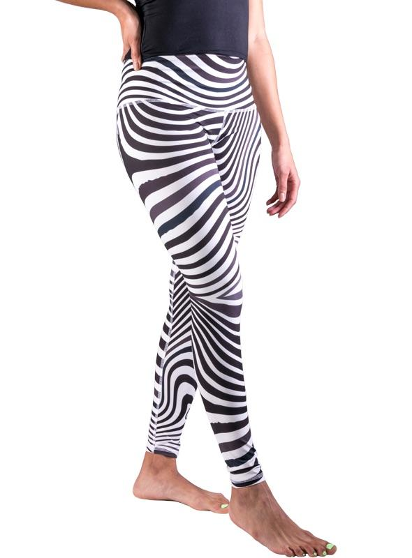 Zebralove Leggings-The Salvage-MAMOQ