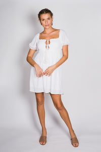 Amelie Dress- White