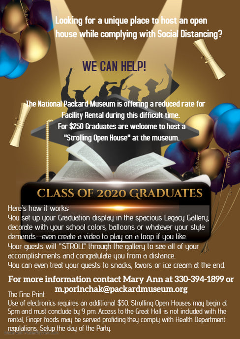 Attention 2020 Graduating Seniors!