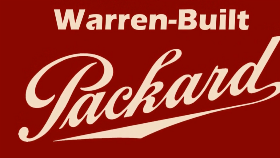 Warren-Built Packard Exhibit Video Tour