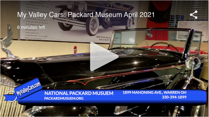 My Valley Cars: Packard Museum Edition