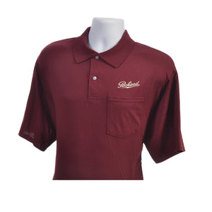 Pocket Polo Shirt-Navy, Maroon or White