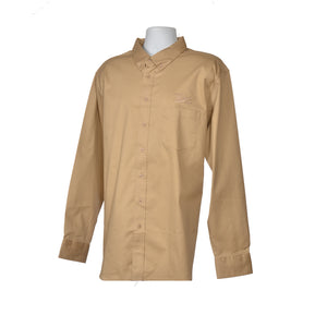 Adult Long Sleeve Button Down