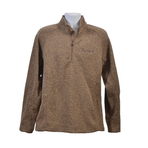 Men's Quarter-Zip Fleece Sweater