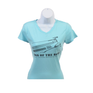 "Youth ""Boss of the Road"" V- Neck T-Shirts"