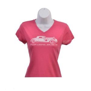 "Youth - Look Like A Princess Ride Like A Pro"" V Neck Tee"