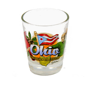 Ohio Shot Glass
