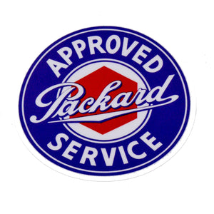 Decal- Packard Approved