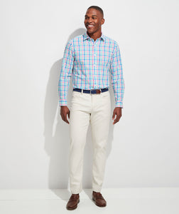 Vineyard Vines - Classic Fit Orange Grove Cooper Button-Down Shirt - Sorbet