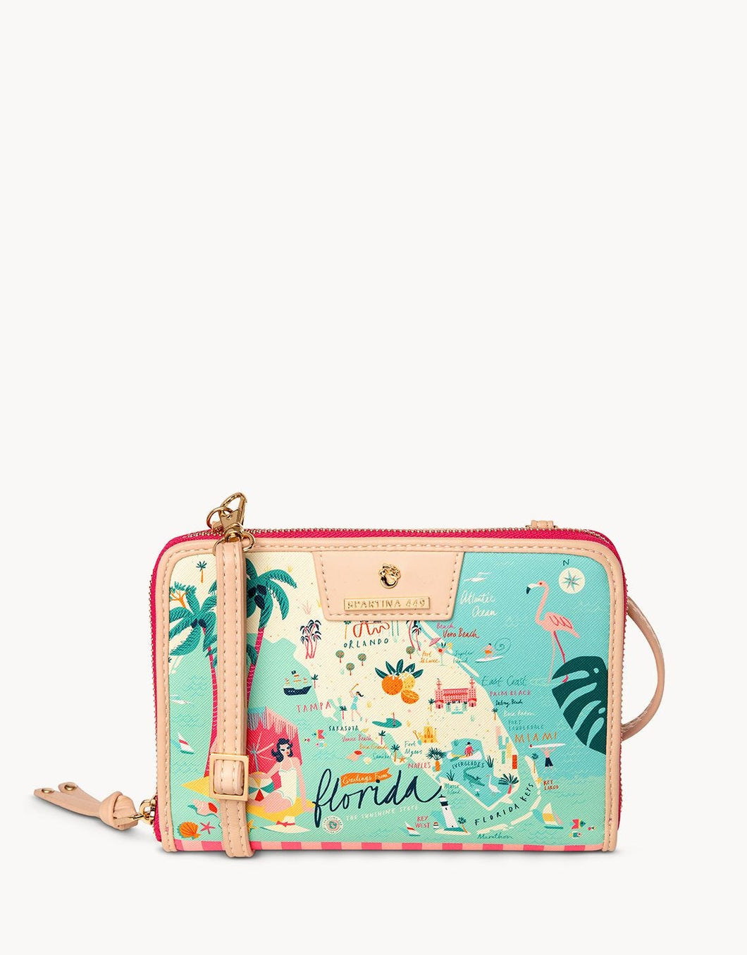 Spartina 449 - FLORIDA ALL-IN-ONE PHONE CROSSBODY