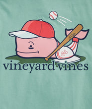 Load image into Gallery viewer, Vineyard Vines - Boys' Baseball Player Whale Short-Sleeve Pocket Tee
