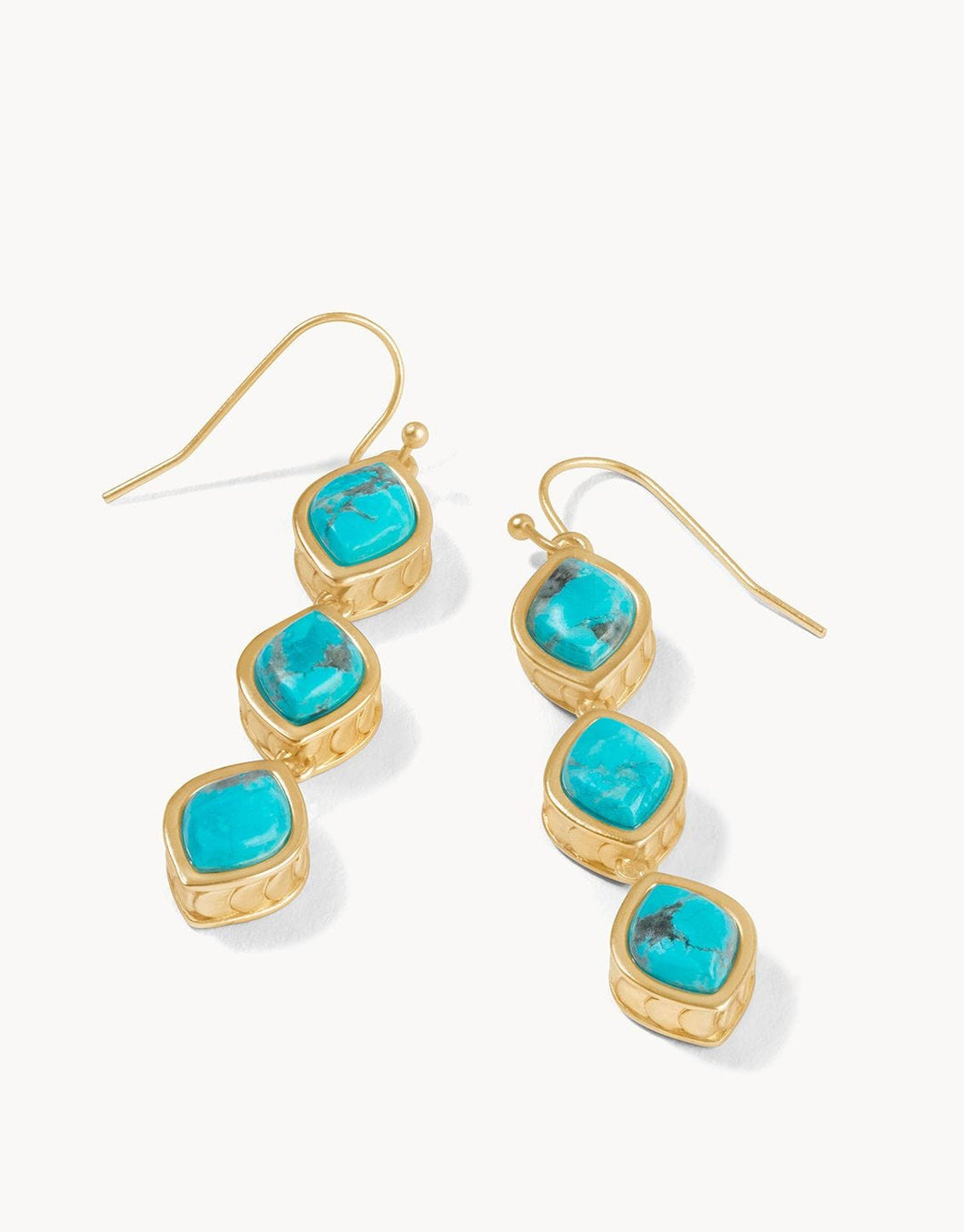 SPARTINA 449 - NAIA LINEAR DROP EARRINGS