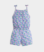 Load image into Gallery viewer, Vineyard Vines - Girls' Printed Knit Romper