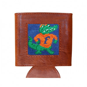 Florida Needlepoint Can Cooler