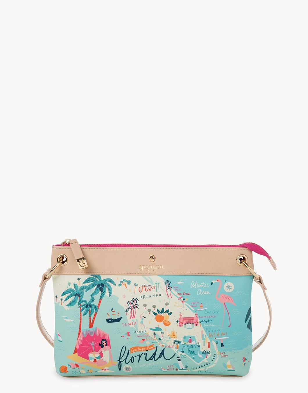 Spartina 449 - FLORIDA CROSSBODY