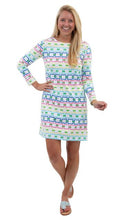Load image into Gallery viewer, Marina Dress 3/4 Sleeve - Rainbow Link