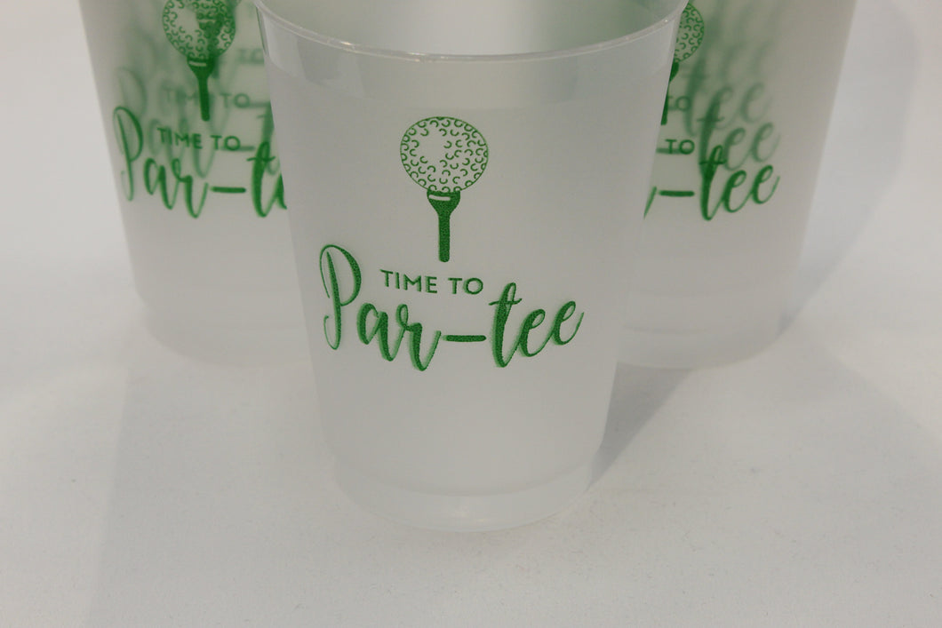 Golf frosted cups