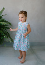 Load image into Gallery viewer, LITTLE ENGLISH - NANTUCKET DRESS - SECRET GARDEN FLORAL