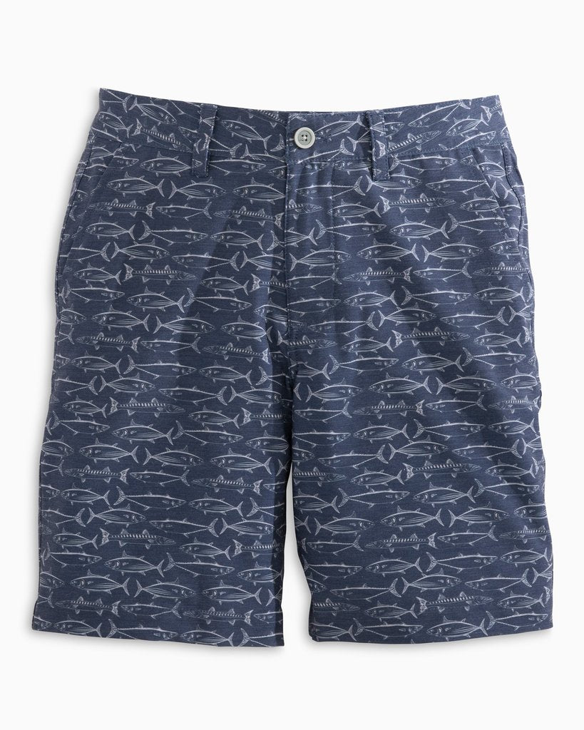 SOUTHERN TIDE - BOYS FISH PRINT T3 GULF SHORT
