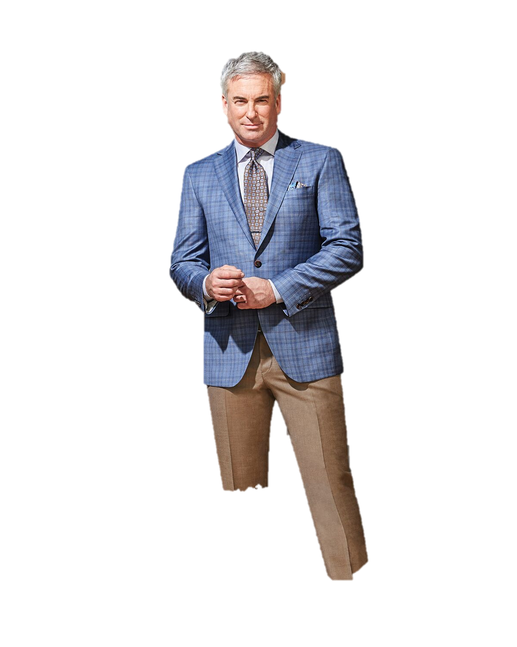 COPPLEY Blue Palid Sport Coat