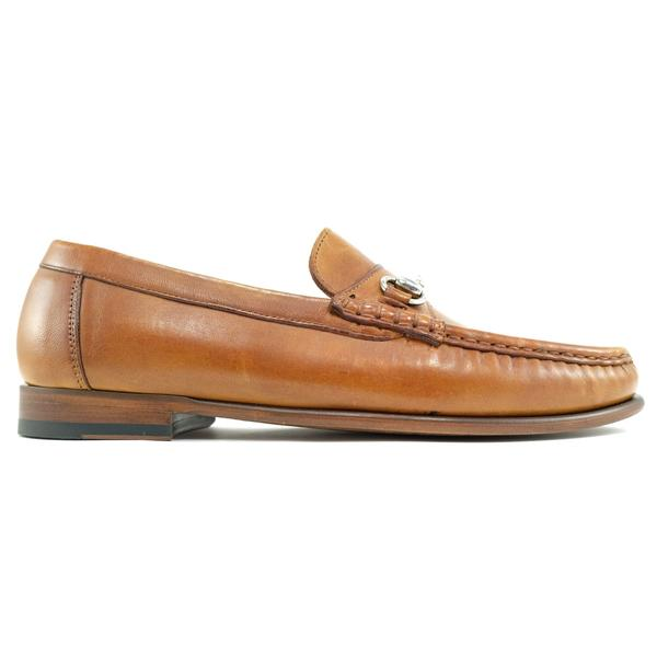Alan Pane Snaffle bit loafer tan