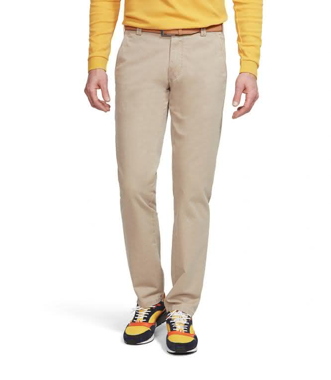 MEYER COTTON SLACKS TAN