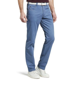 MEYER 5 POCKET COTTON MED BLUE