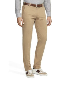 MEYER COTTON SLACKS TAUPE