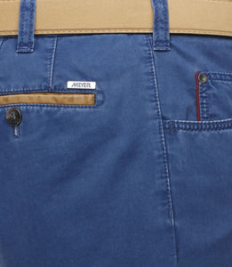 MEYER 5 POCKET COTTON BLUE
