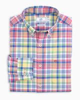 Load image into Gallery viewer, OUTHAUL MADRAS INTERCOASTAL PERFORMANCE SPORT SHIRT