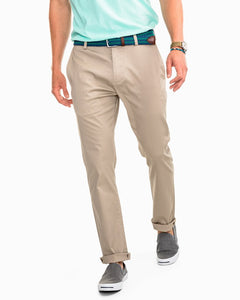 SOUTHERN TIDE - CHANNEL MARKER CHINO PANT - SANDSTONE KHAKI