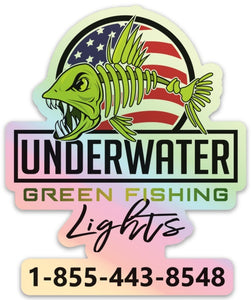 Under Water Green Fishing Lights