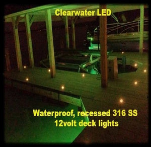 Recessed Dock Lights