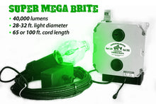 Load image into Gallery viewer, Super Mega Brite Underwater Light System (400 Watts)