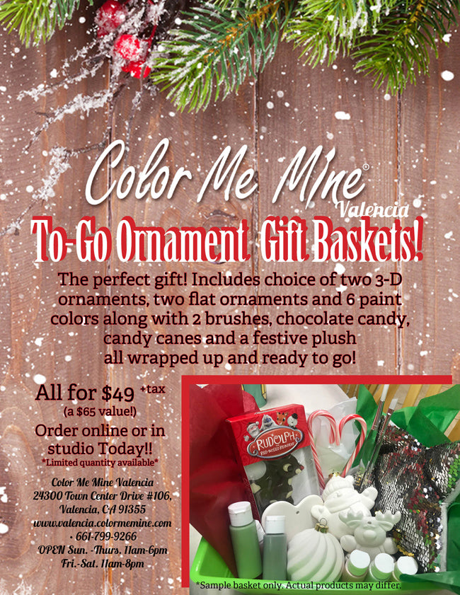 Ornament Gift Basket To Go!