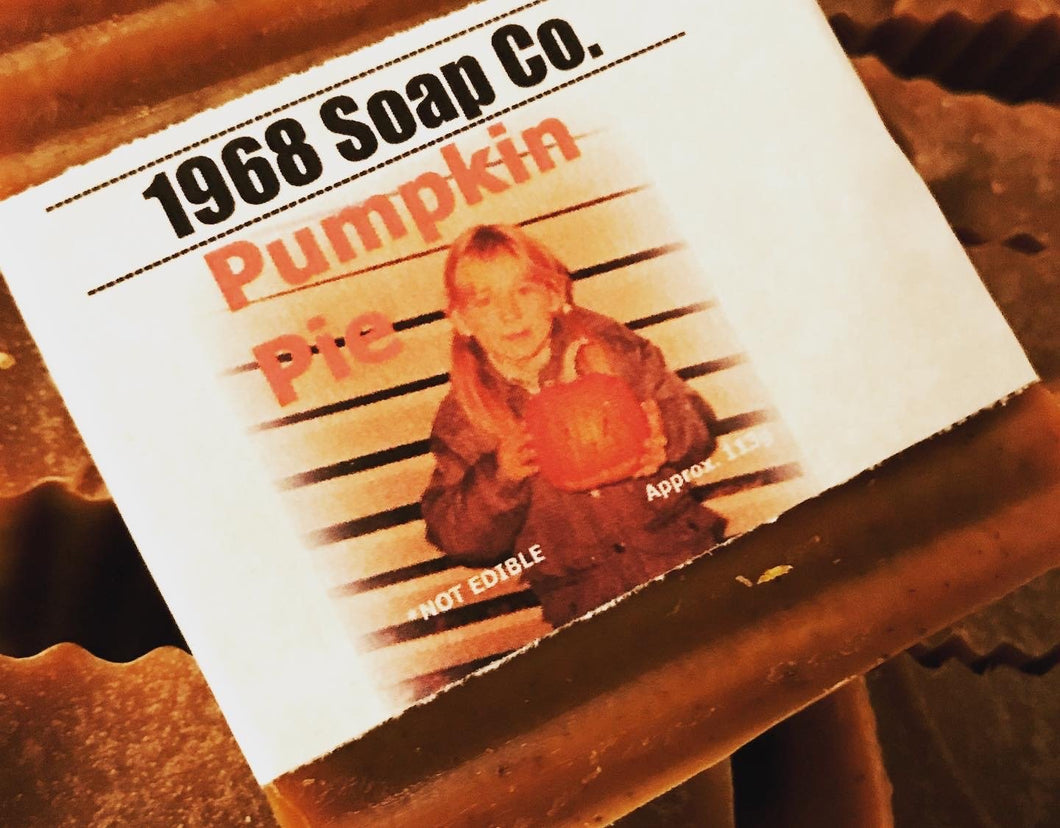 Pumpkin Pie Cold Pressed Soap