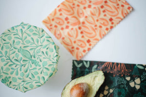 Beeswax Wraps - 5 Wrap Variety