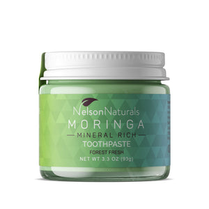 Nelson Naturals - Moringa Mineral-rich Toothpaste - Forest Fresh