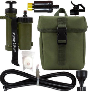Seychelle Pump 2 Pure Kit (RAD/ADV/PH Filter) - Olive